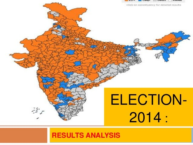 Election 2014 results analysis