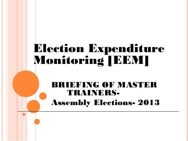 INDIA ELECTION 2014-Election expenditure monitoring.