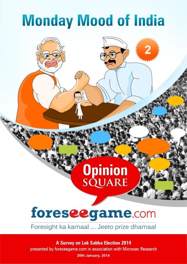 Predict on Lok Sabha Election 2014