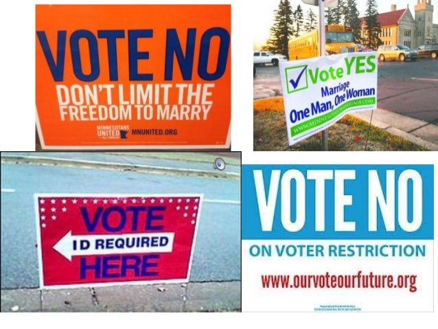 VOTE NO- Election Project