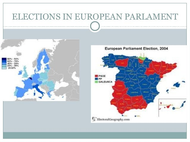 ELECTIONS IN EUROPEAN PARLAMENT