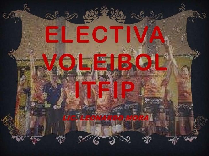 Electiva voleibol1