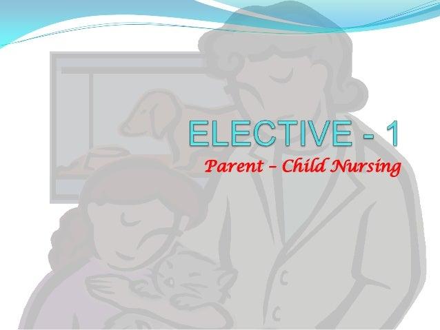 Parent – Child Nursing