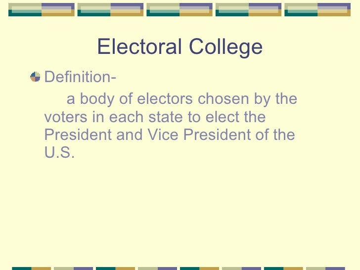 electoral college system 2 essay Pros and cons of electoral college by breana noble 2 it facilitates a two-party system some political activists may not be fans of the two-party system.