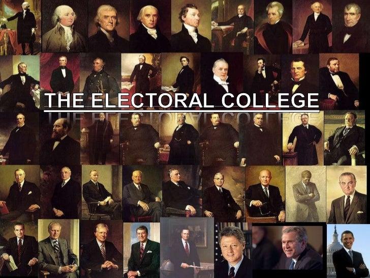Electoral college argument essay