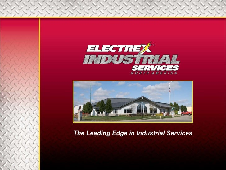 The Leading Edge in Industrial Services