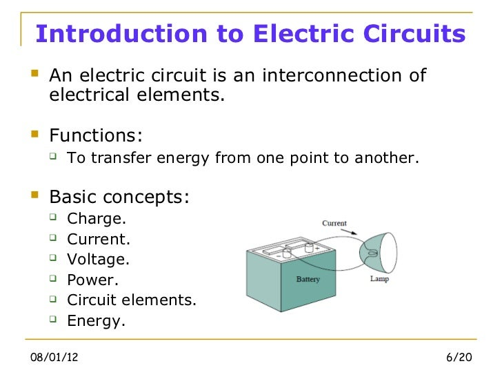 electric electrical system chapter 1 Department of electrical engineering and computer science  class notes chapter 1: review of network theory  electric network theory deals with two primitive.