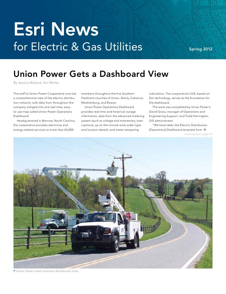 Esri Newsfor Electric & Gas Utilities                                                                                     ...