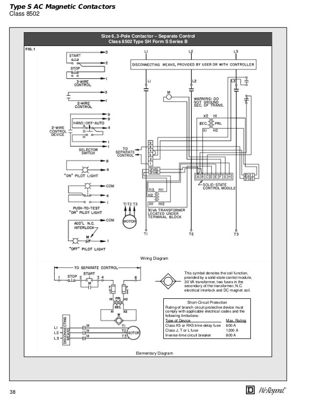Wiring Diagram For Square D Lighting Contactor : Square d schematic wiring get free image
