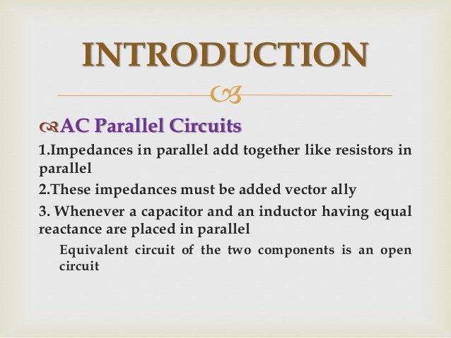 PARALLEL HOUSE WIRING