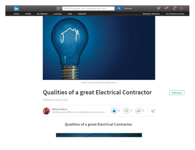 How to find the right electrical contractor - Contractor how to find one ...