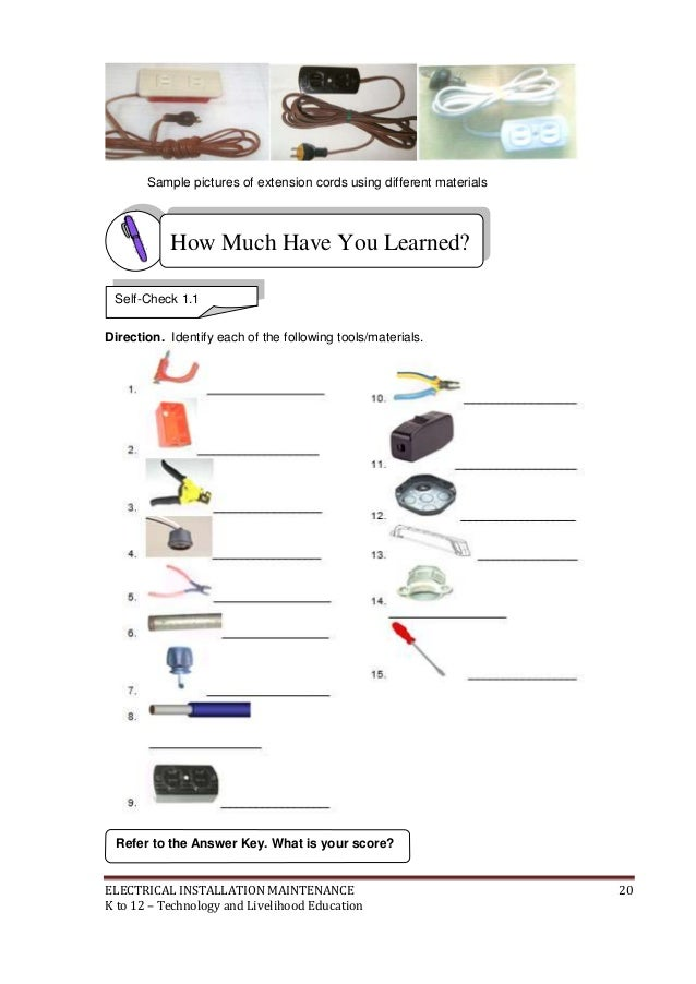 electrical installation tools pdf free