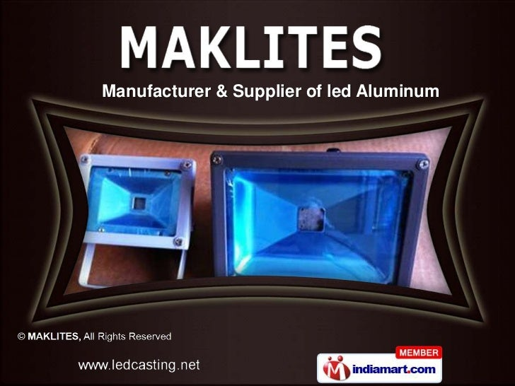 Electrical Lighting Products By MAKLITES Mumbai
