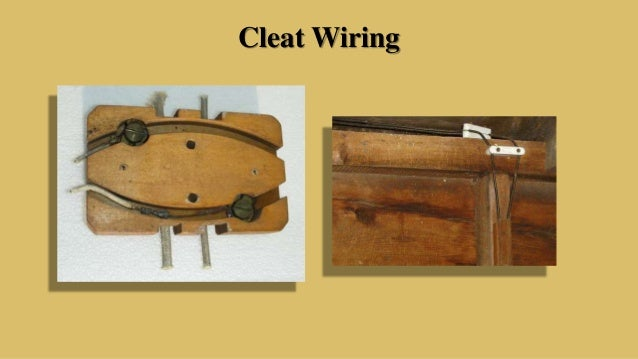 Cleat Wiring System - WIRE Center •