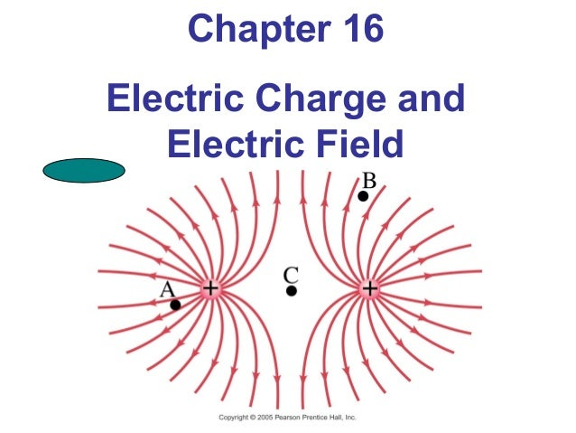 Chapter 16Electric Charge and   Electric Field