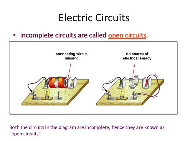 incomplete circuit - CoolForNerds:P