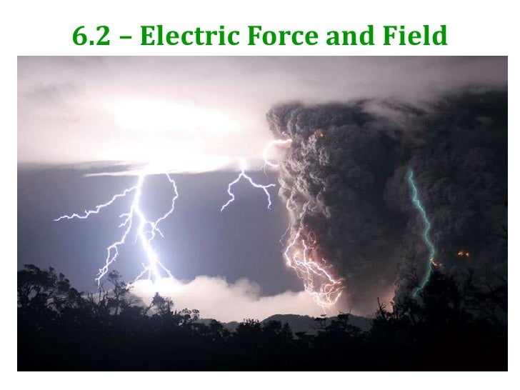6.2 - Electric Force and field