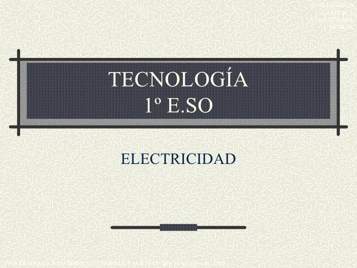 Electricidad castellano