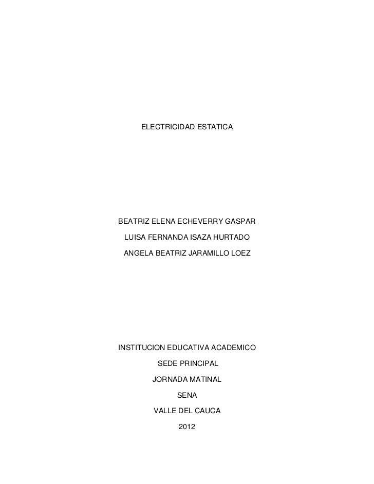 Electricidad estatica[1]