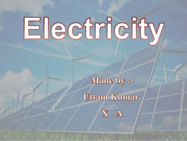 class 10 chapter 12 - Electricity