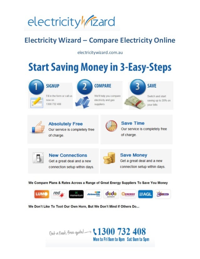 Electricity Wizard - Finding Cheap Electricity Rates Online