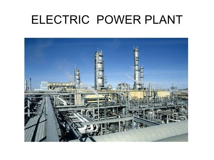 Electric power plants (5)