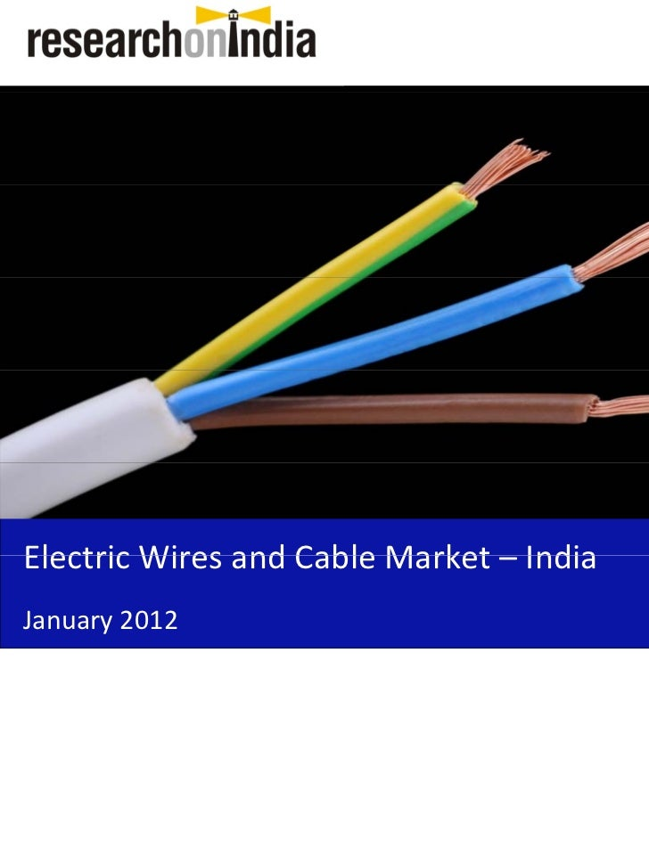 Insert Cover Image using Slide Master View                              Do not distortElectricWiresandCableMarket– In...