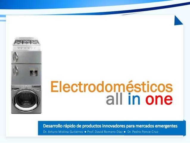 Electrodomesticos All in One