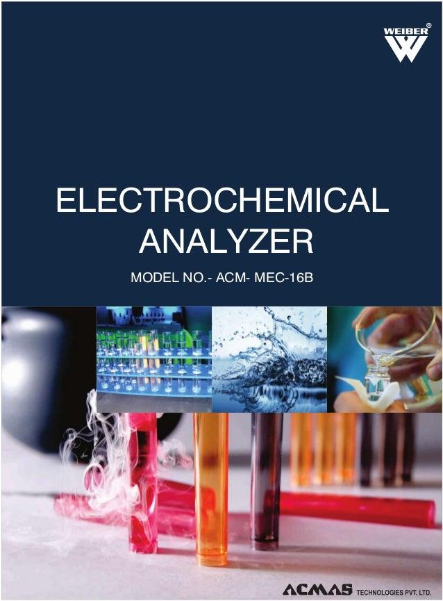 Electrochemical Analyzer by ACMAS Technologies Pvt Ltd.