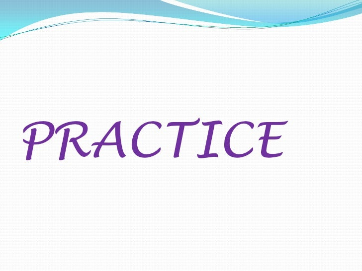 Electrodiagnosis practice