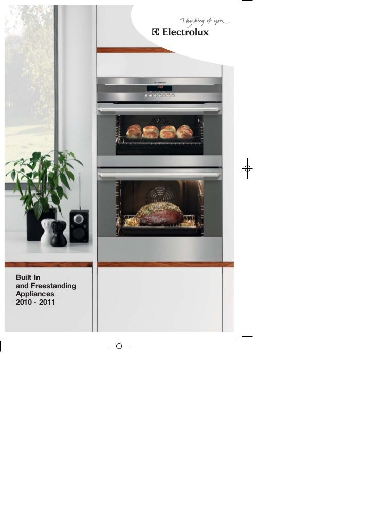Built Inand FreestandingAppliances2010 - 2011