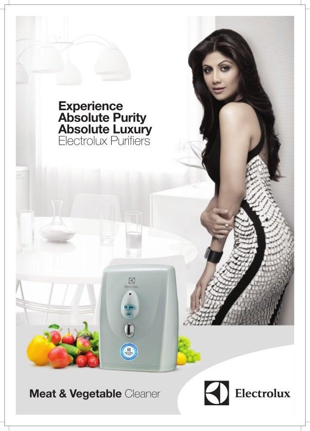 Electrolux veg purifier