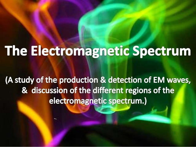 Producing Electromagnetic Waves