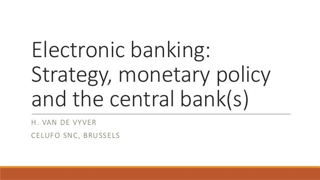 finmgmt2 monetary policy central bank Means of payment by agents a ects the optimal monetary policy that the central bank can adopt and, consequently, welfare 2 to address these and similar questions, i use the framework oflagos and wright(2005) to build a model in which two means of payment could be available to agents: cash and cbdc.