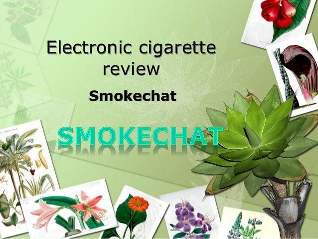 Electronic cigarette       review    Smokechat