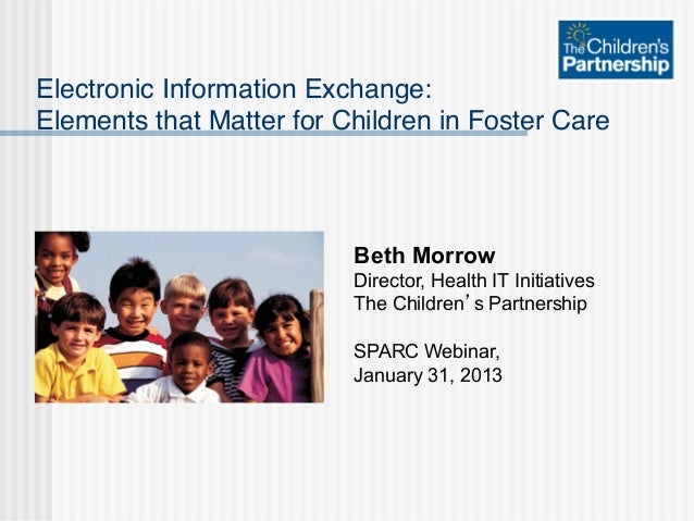 Electronic Information Exchange: