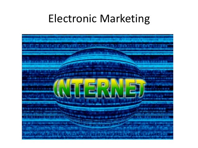 Electronic marketing a_definition