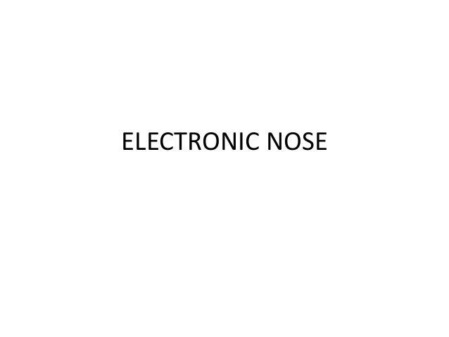 Electronic nose