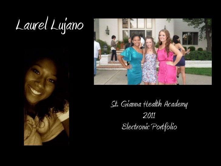 Laurel Lujano Electronic Portfolio