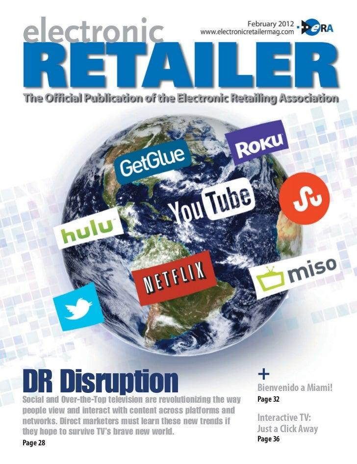 Electronic Retailer Magazine, Itv Story