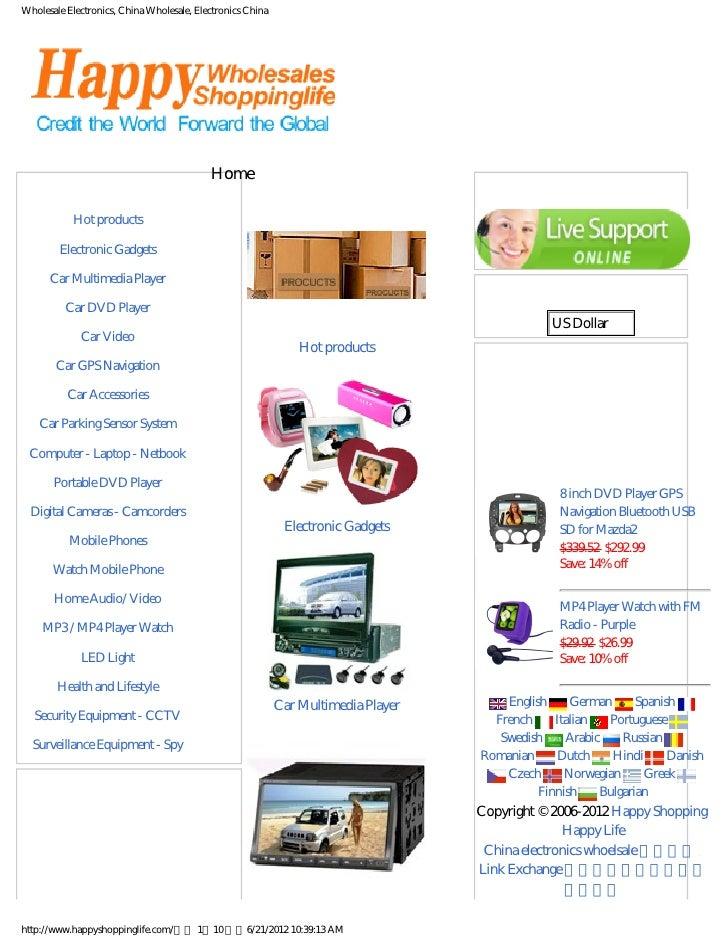 Wholesale Electronics, China Wholesale, Electronics China                                           Home             Categ...