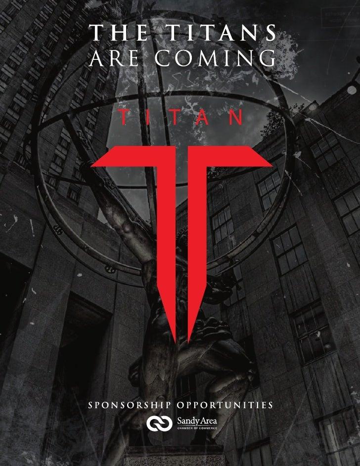 Titan Awards Sponsorship Packet