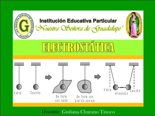 Docente: Giuliana Churano Tinoco V id r io C a u c h o S e f r o t a c o n s e d a S e f r o t a c o n p ie l d e c o n e ...