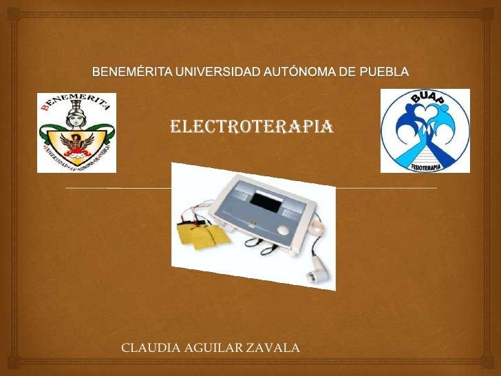 ELECTROTERAPIACLAUDIA AGUILAR ZAVALA