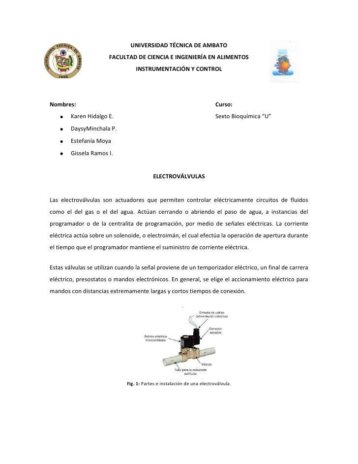 -114300476254781550-28575UNIVERSIDAD TÉCNICA DE AMBATO<br />FACULTAD DE CIENCIA E INGENIERÍA EN ALIMENTOS<br />INSTRUMENTA...