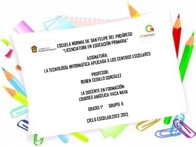"""GRESO                                    AN FELIPE DEL PRO                     N ORMAL DE S CACIÓN PRIMARIA""""           ESC..."""