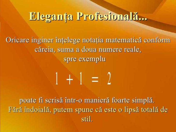 Eleganta matematica