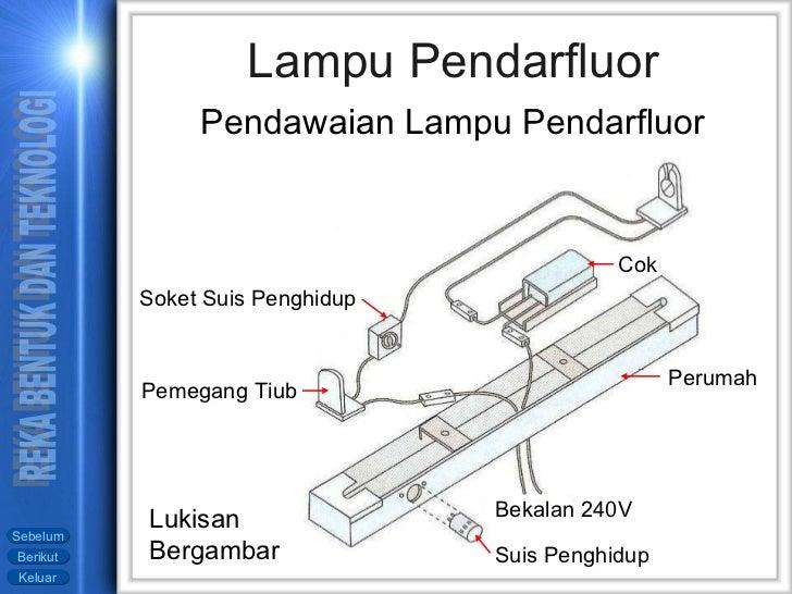 Outstanding Pendawaian Lampu Pendaflour Led Diode Mentol Led Jimat Tenaga Wiring Digital Resources Otenewoestevosnl