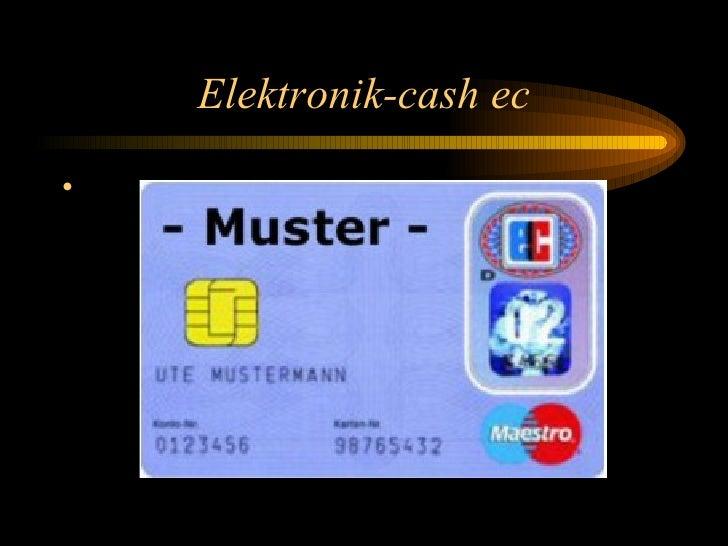Elektronik-cash ec