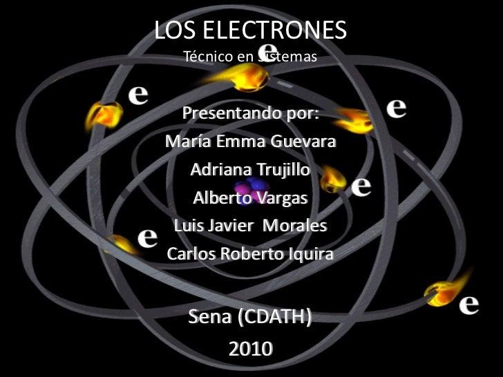 El electron javier